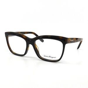 "Salvatore Ferragamo ""SF2749"" Black Havana Glasses"
